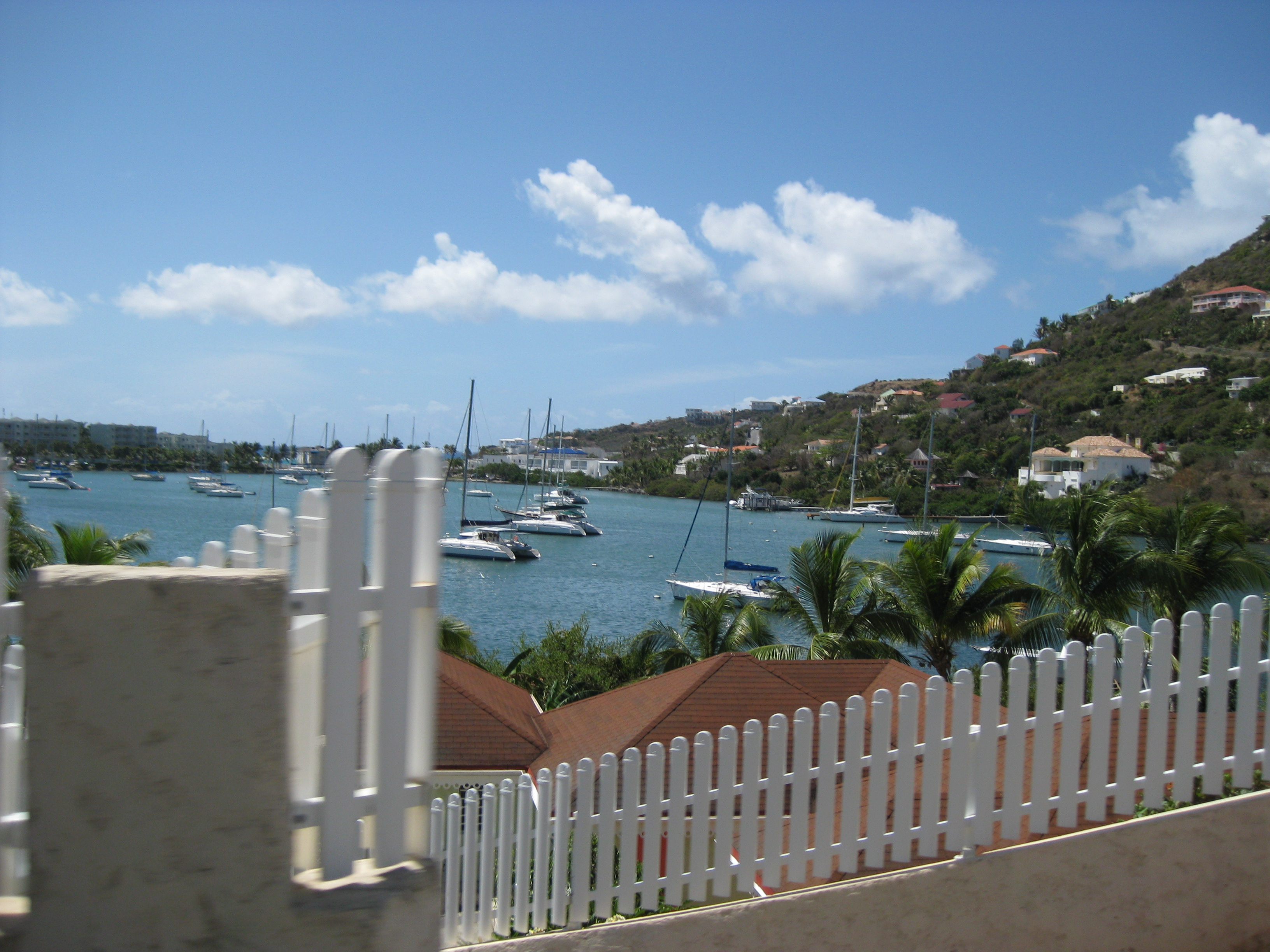 View on St. Maarten