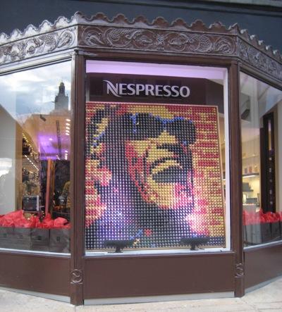 Nespresso Storefront