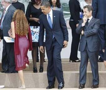 Obama and Sarkozy