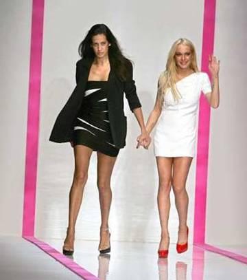 Lindsay Lohan for Ungaro