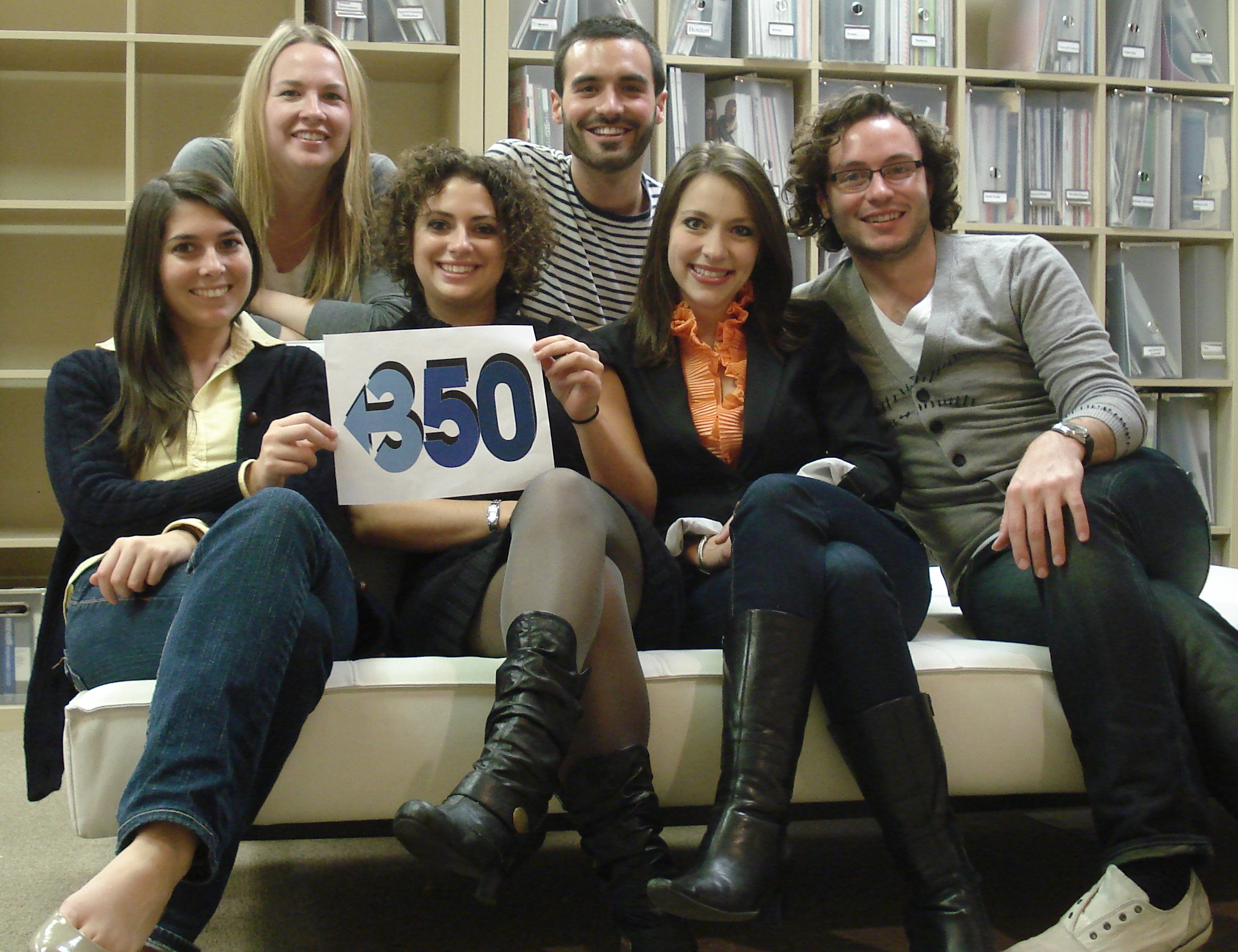 MM/C Staff Supporting 350.org