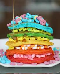 05.10.16 rainbow pancakes