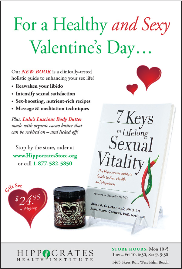 Hippocrates Valentine's Day Advertisement