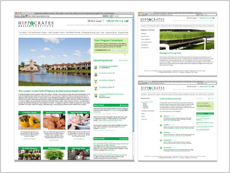 Hippocrates Website