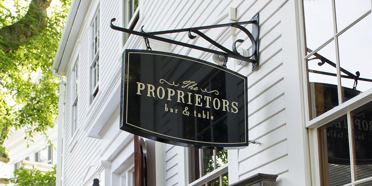 Proprietors Signage