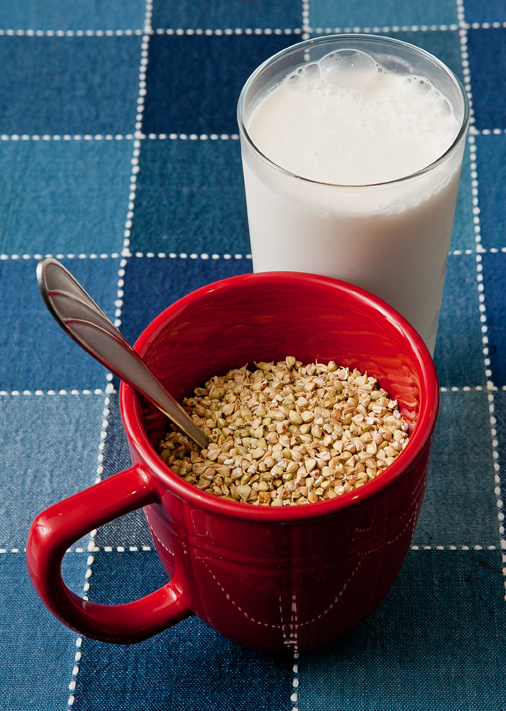 Hippocrates Photography – Raw Cereal & Almond Milk