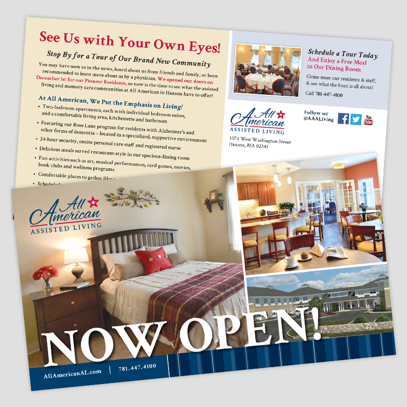 All American Assisted Living – Direct Mail