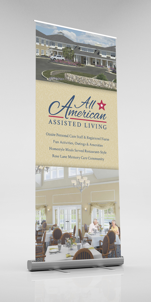 All American Assisted Living – Banner Stand