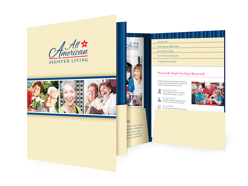 All American Assisted Living Sales Folder