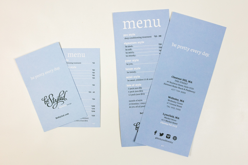 Be Styled Menu