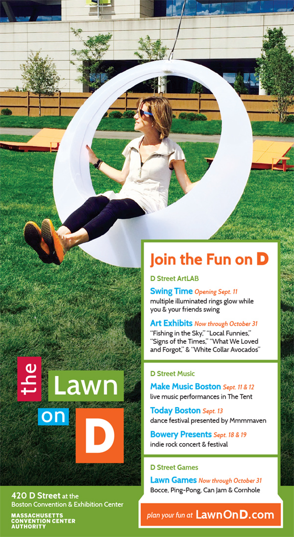 The Lawn On D Advertisement