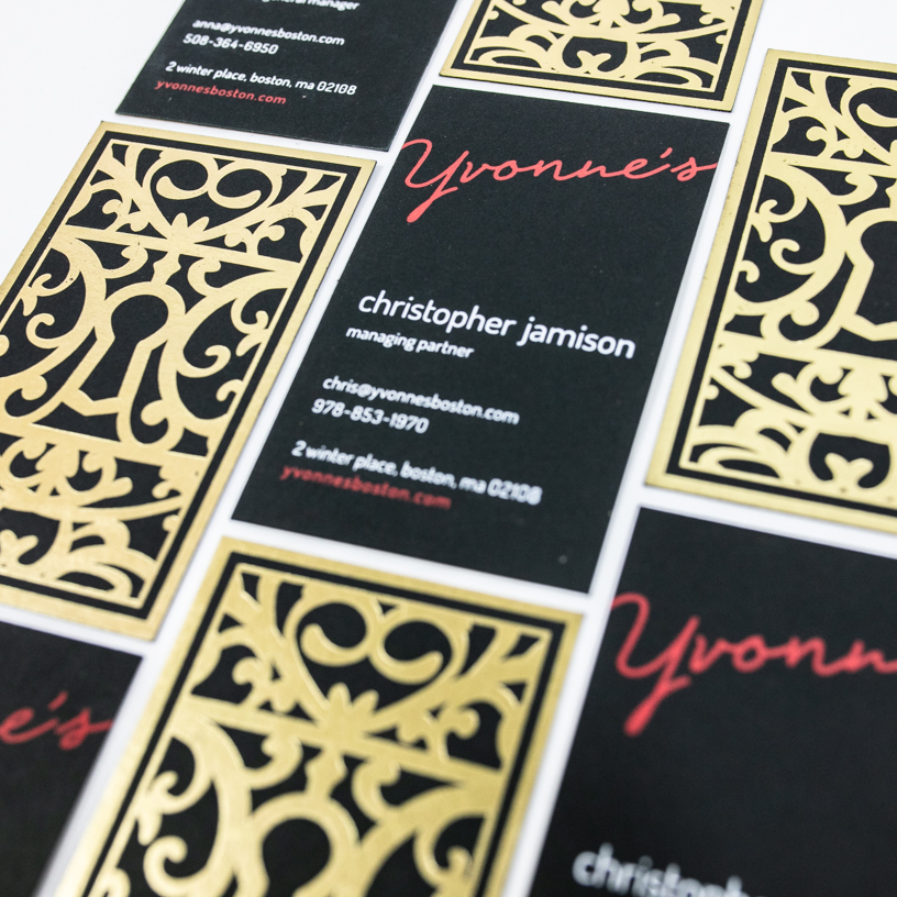Yvonnes Business Cards