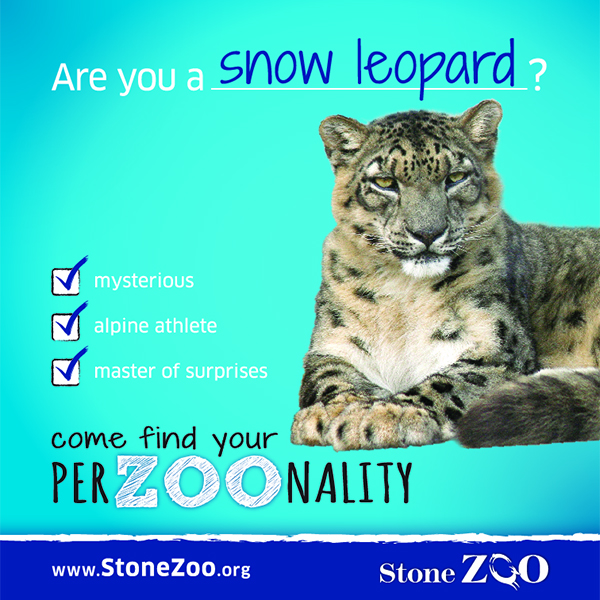 Zoo New England PerZOOnality Digital Advertisement