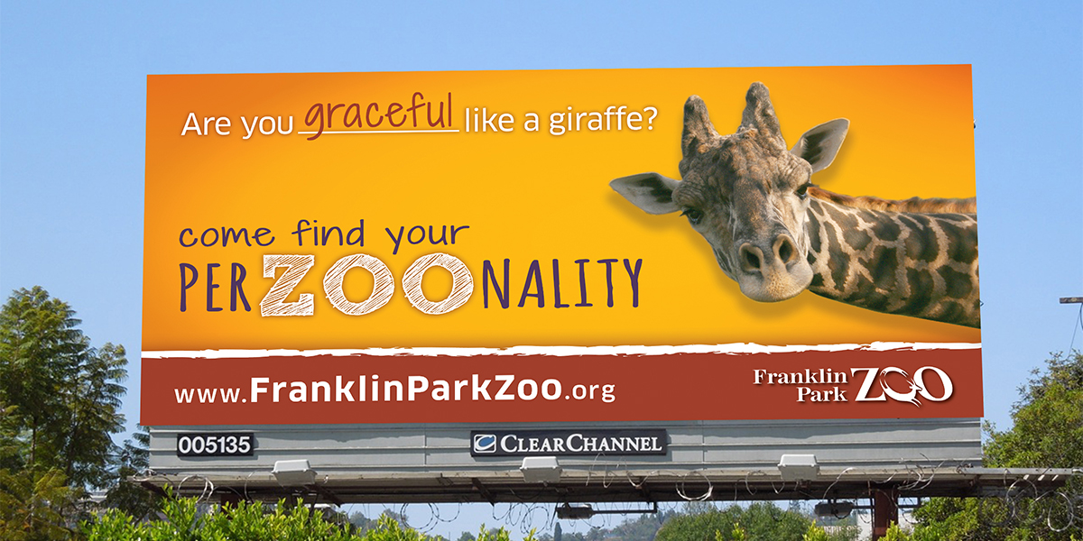 Zoo New England PerZOOnality Billboard