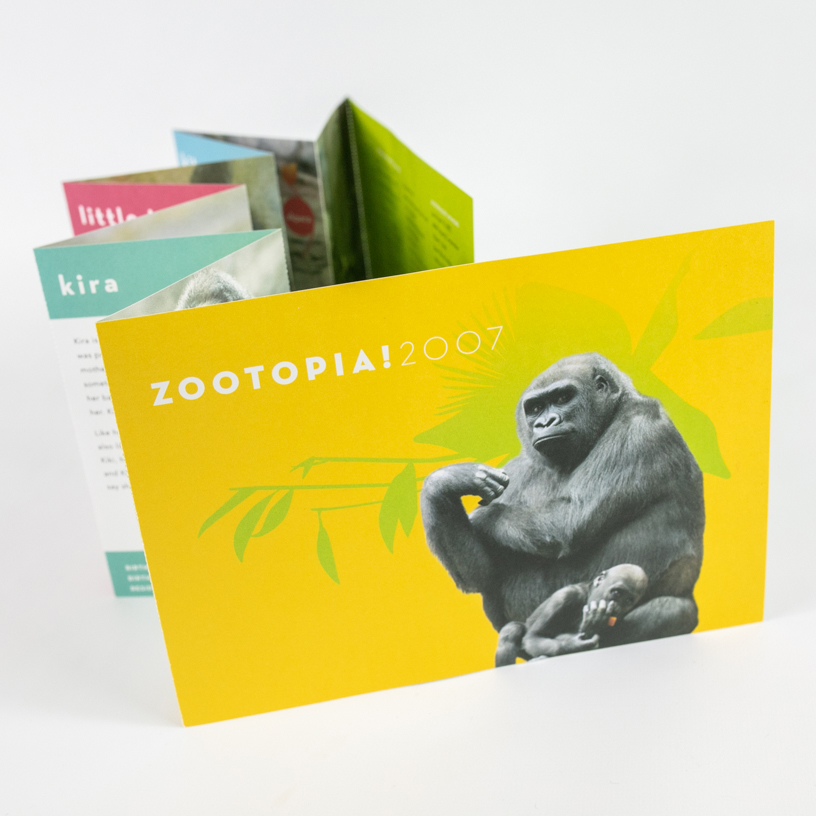 Zoo New England Zootopia Invite