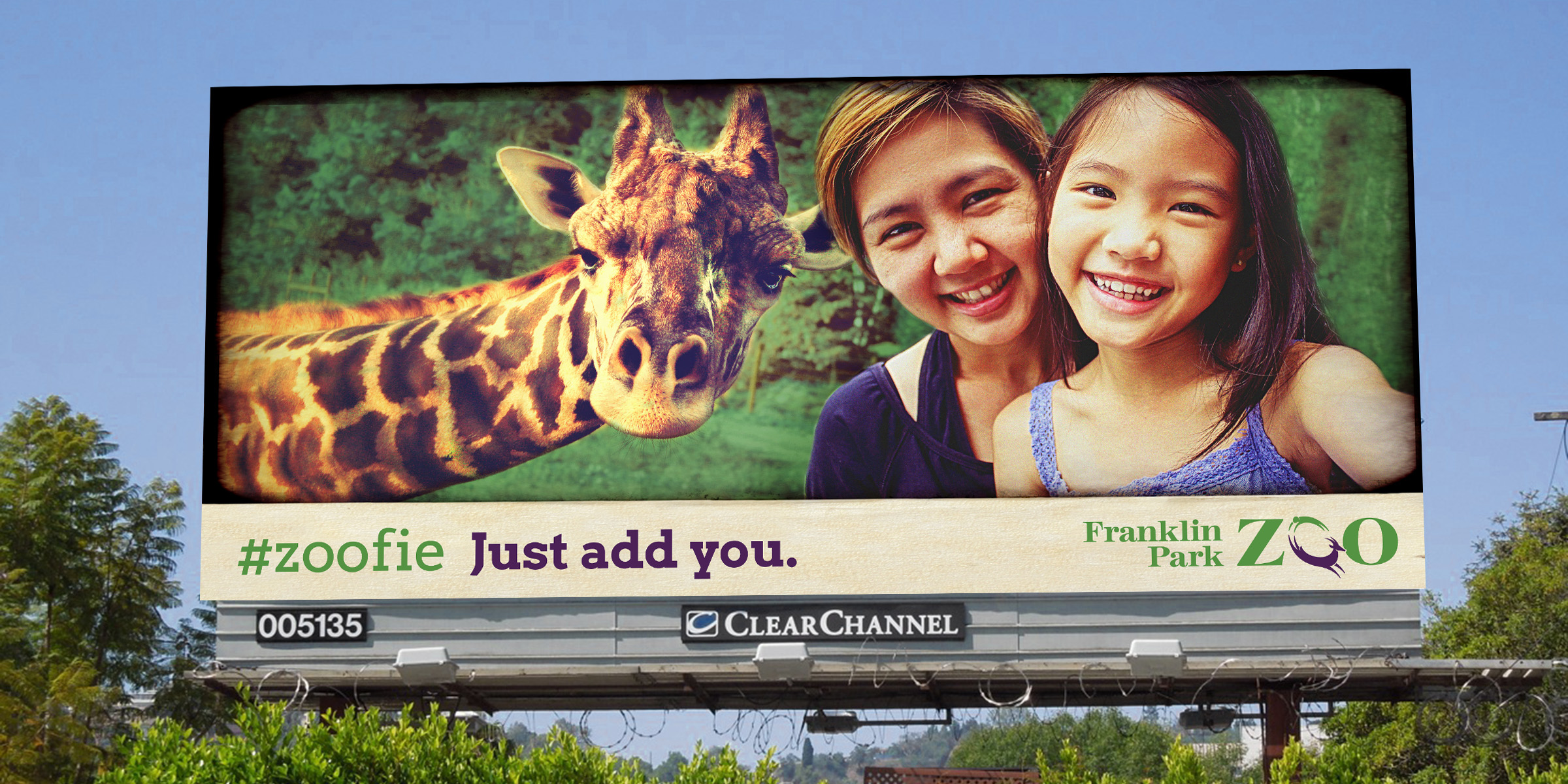 Zoo New England ZOOfie Billboard
