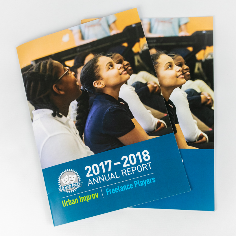 Rehearsal For Life 2017-2018 Annual Report