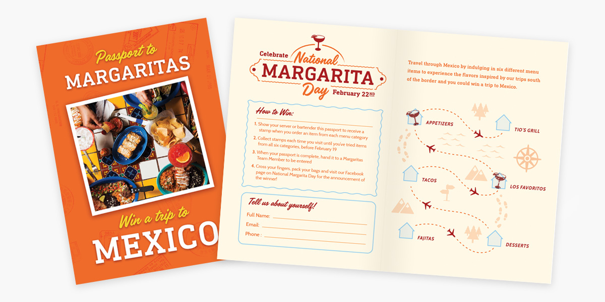 Margaritas National Margarita Day Passport