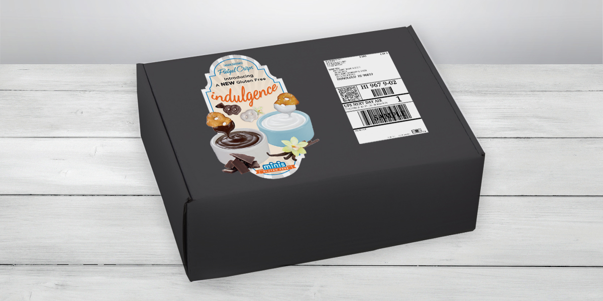 Pretzel Crisps® Indulgence Media Mailer