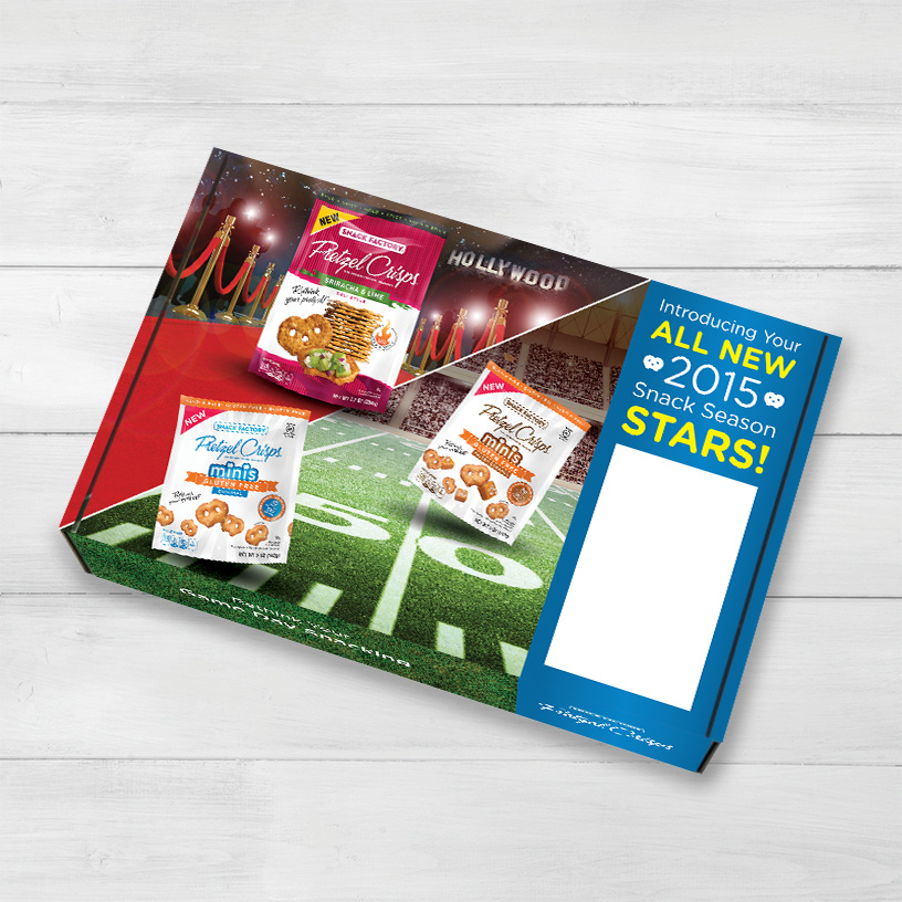 Pretzel Crisps® All Stars Media Mailer