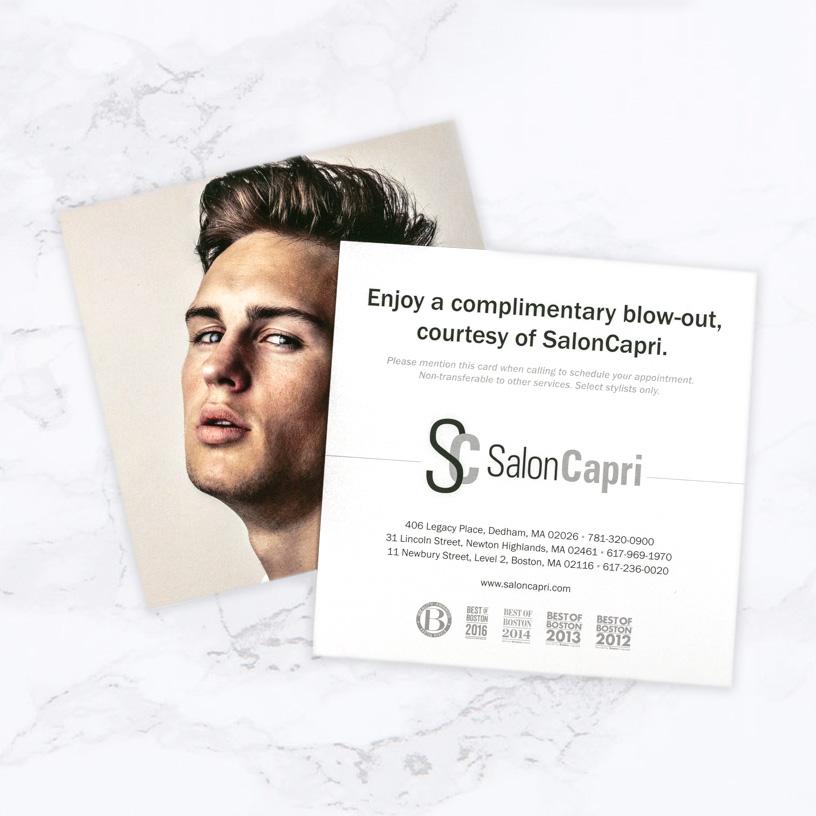 Salon Capri Deal Card