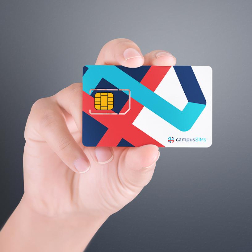 CampusSIMs SIM Card Design