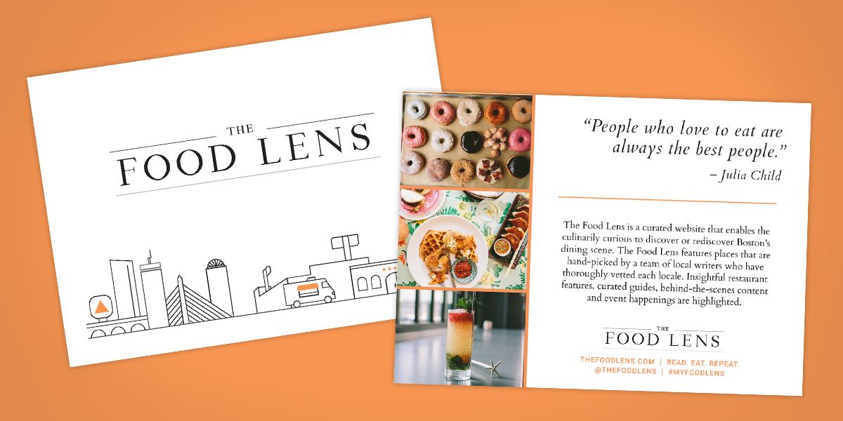TheFoodLens Postcard