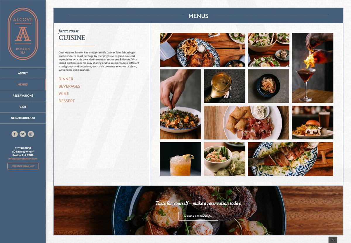 Alcove Interior Webpage