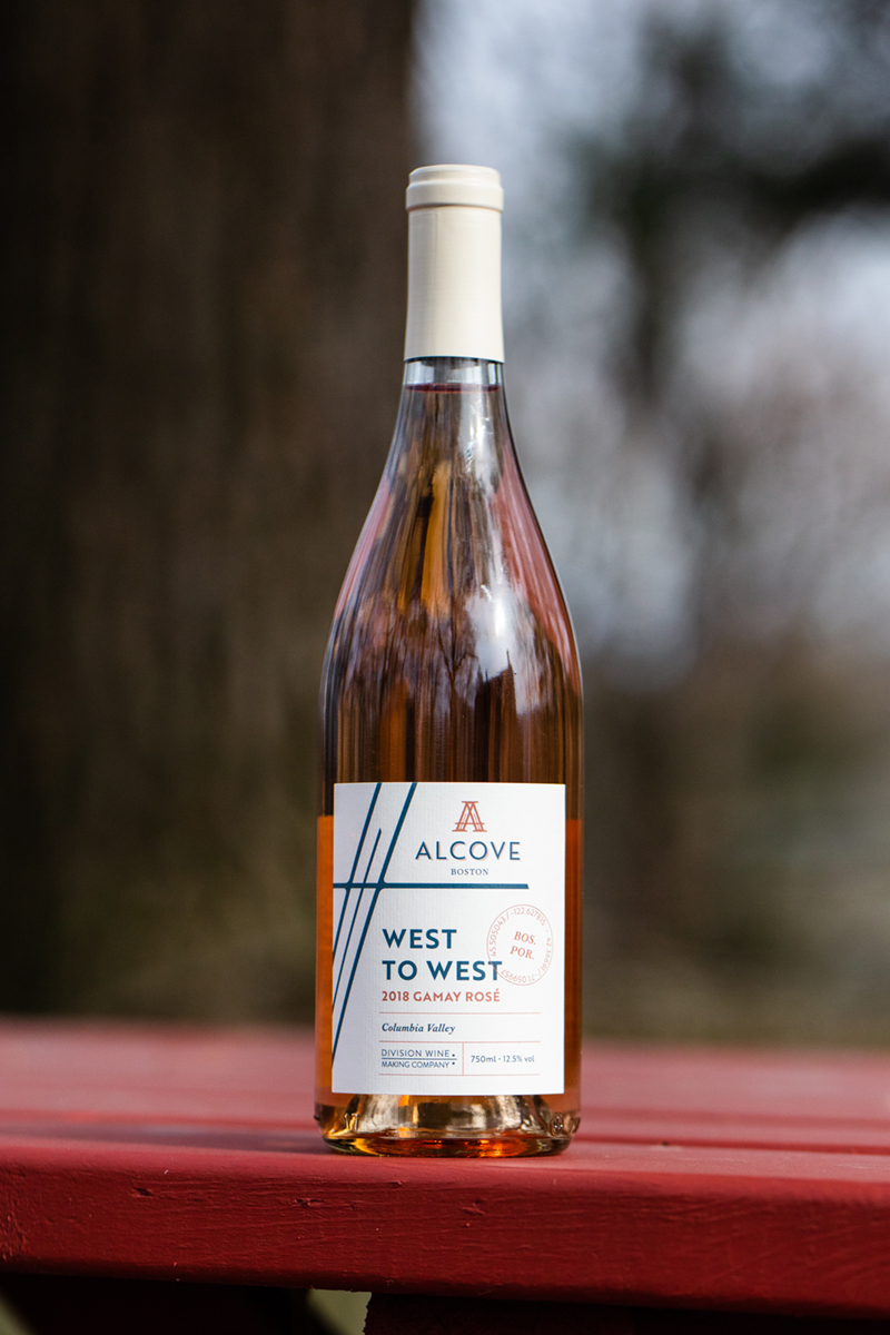 Alcove Rosé Wine Label