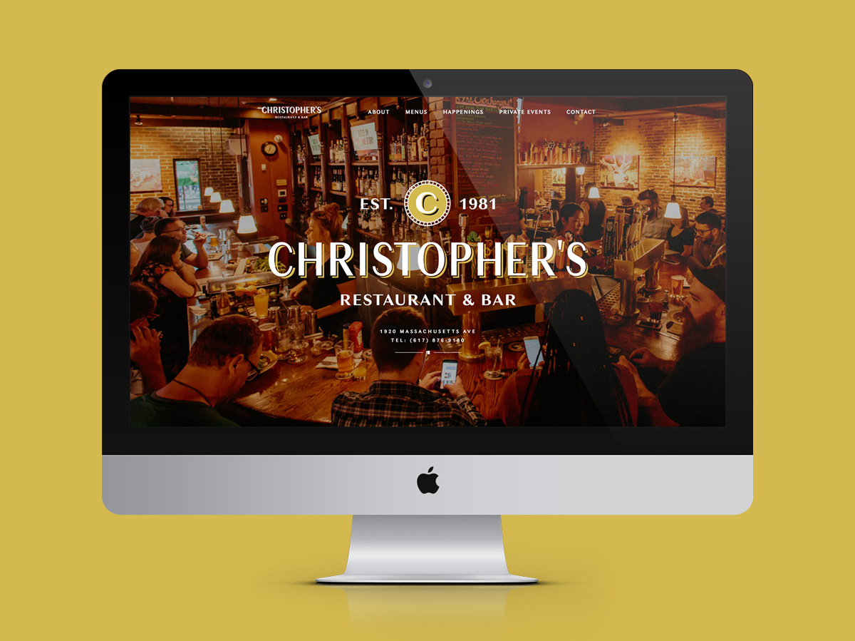 Christopher's Website Homepage