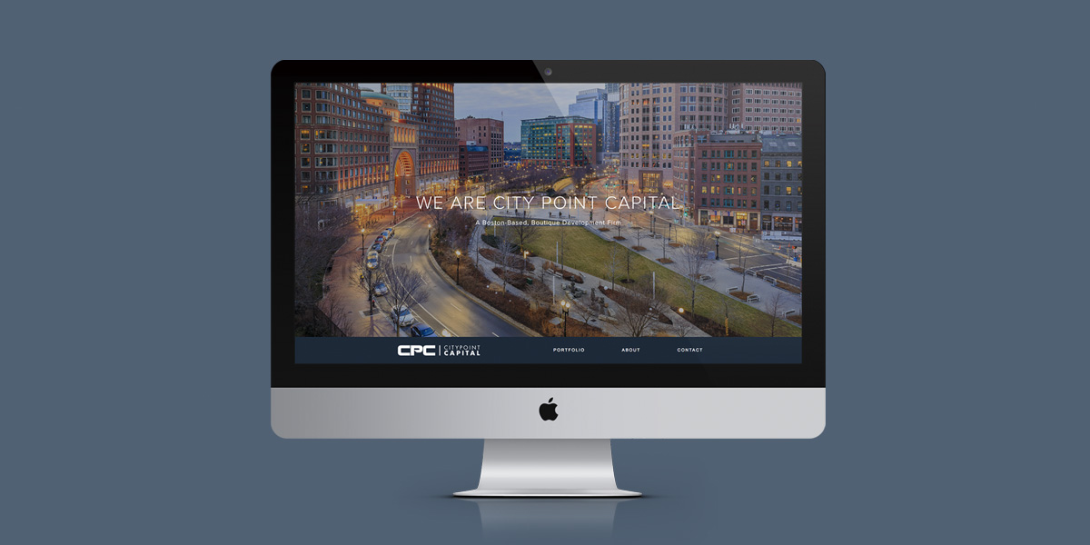 City Point Capital Website Homepage
