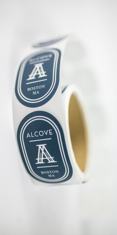 Alcove Stickers