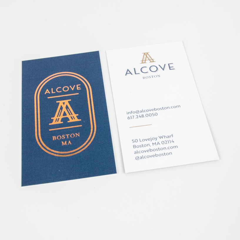 Alcove Business Card Design