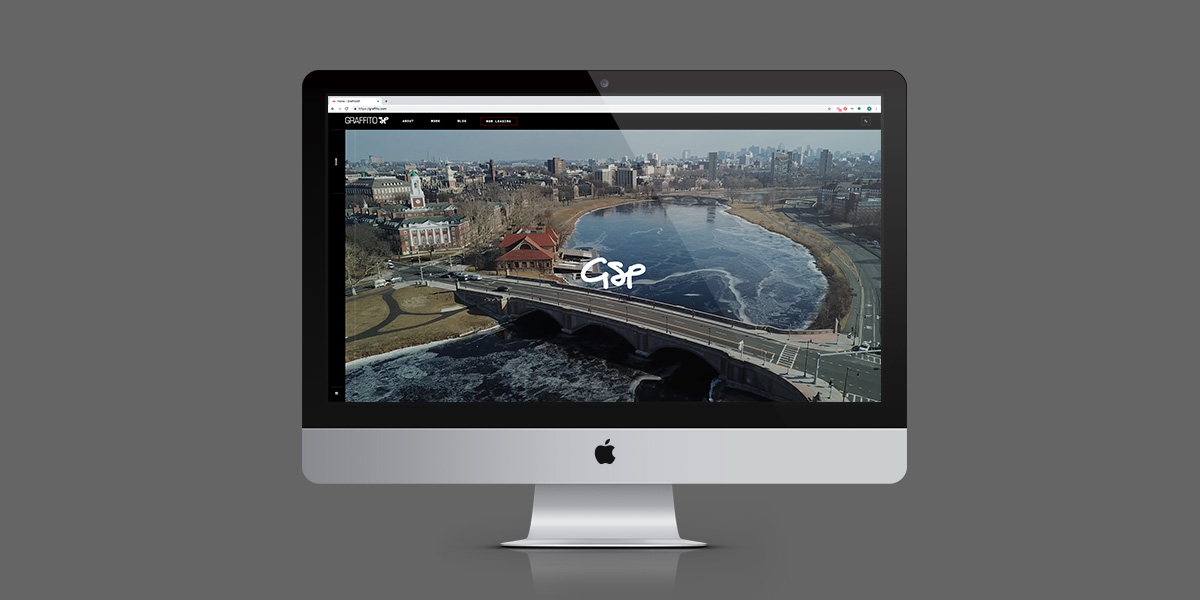 Graffito SP – Website Homepage