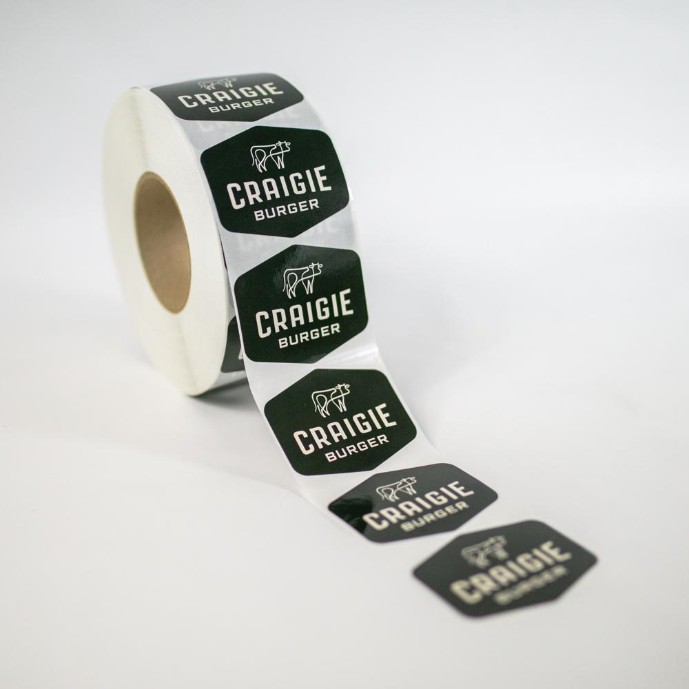 Craigie Burger Stickers