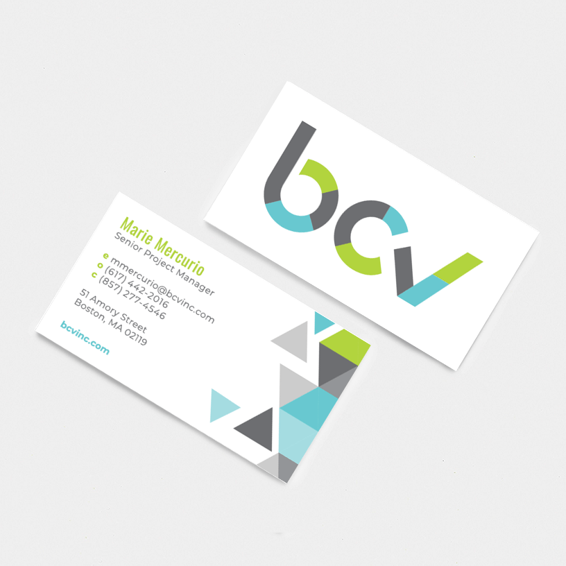 Boston Community Ventures Business Card